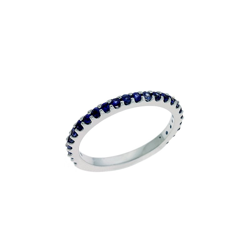 S. Kashi  & Sons Eternity Sapphire Band