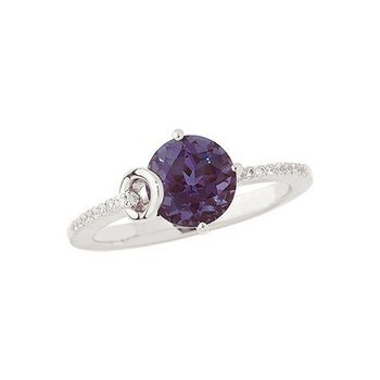 Alexandrite Ring-CR8244WAL