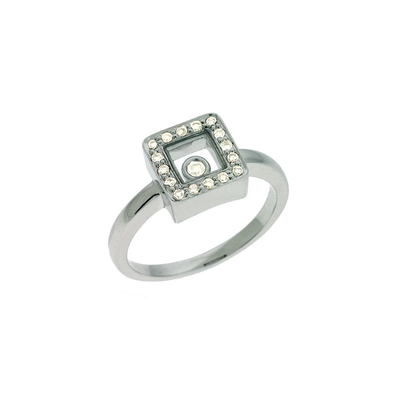 S. Kashi  & Sons White Gold Diamond Motion Ring