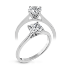 Simon G MR2954 ENGAGEMENT RING