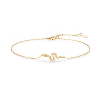 Nefertiti | Diamond Snake Bracelet
