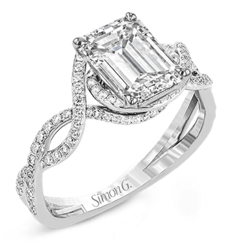 LP2304-EM ENGAGEMENT RING