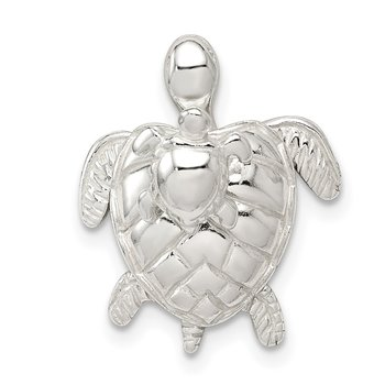 Sterling Silver Mother & Baby Turtle Pend