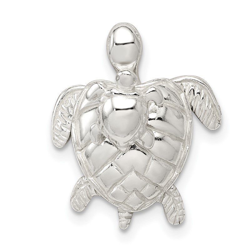 Quality Gold Sterling Silver Mother & Baby Turtle Pend