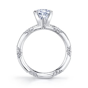 The Crown Lace Ring