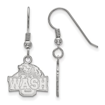 Sterling Silver Washington University in St. Louis NCAA Earrings