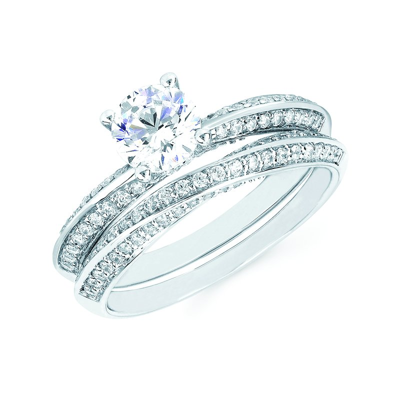 J.F. Kruse Signature Collection Ring RD CZ 0.25 RD CZ 0.75 STD