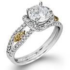 Zeghani ZR520 ENGAGEMENT RING