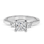 Simon G LR2149 WEDDING SET