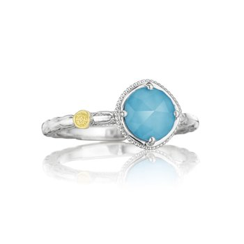Simply Gem Ring featuring Neo-Turquoise