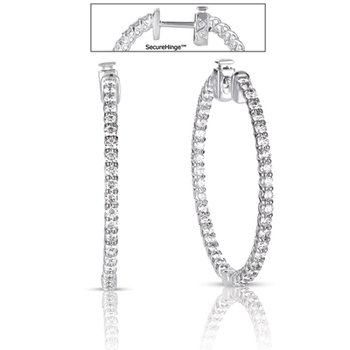 1.5 inch Securehinge Hoop Earring