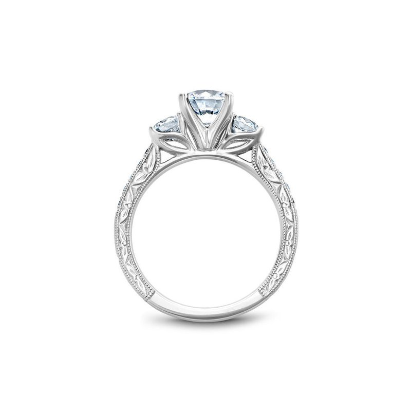 Noam Carver Three-Stone Engagement Ring