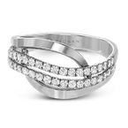 Zeghani ZR815 RIGHT HAND RING