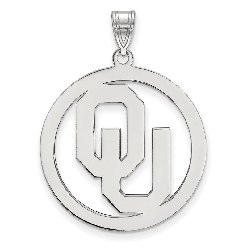 NCAA Sterling Silver University of Oklahoma NCAA Pendant