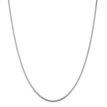 Sterling Silver 1.75mm Box Chain