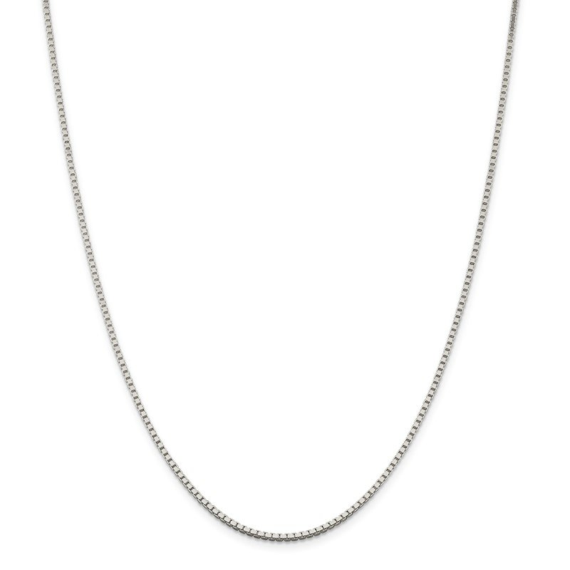 Quality Gold Sterling Silver 1.75mm Box Chain