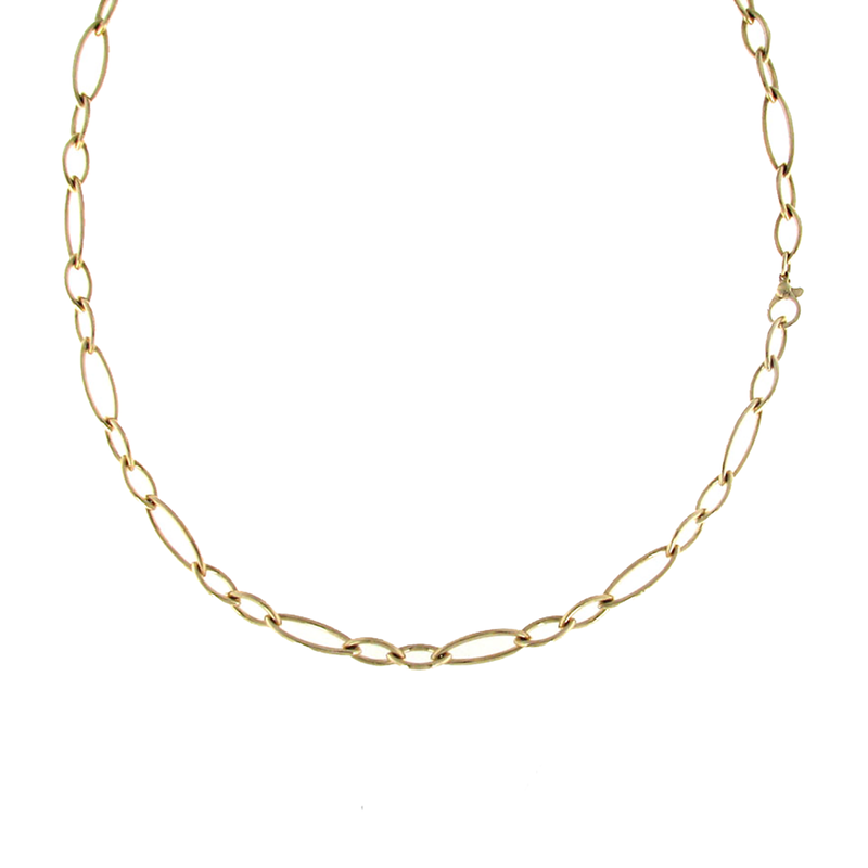 Roberto Coin 18Kt Yellow Gold Long Link Necklace