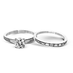 Simon G MR2220 WEDDING SET