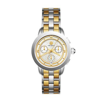 Tory Burch Watch from the Double T Link Collection