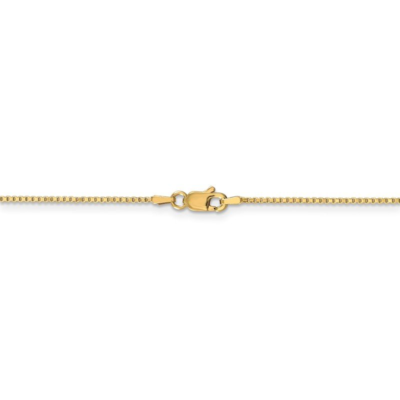 Leslie's Leslie's 14K 1 mm Box w/Lobster Chain