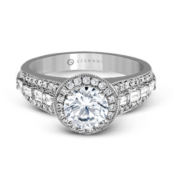 ZR1169 ENGAGEMENT RING