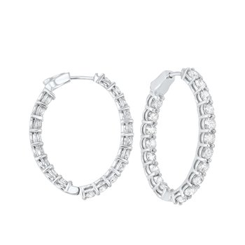 Diamond Hoops