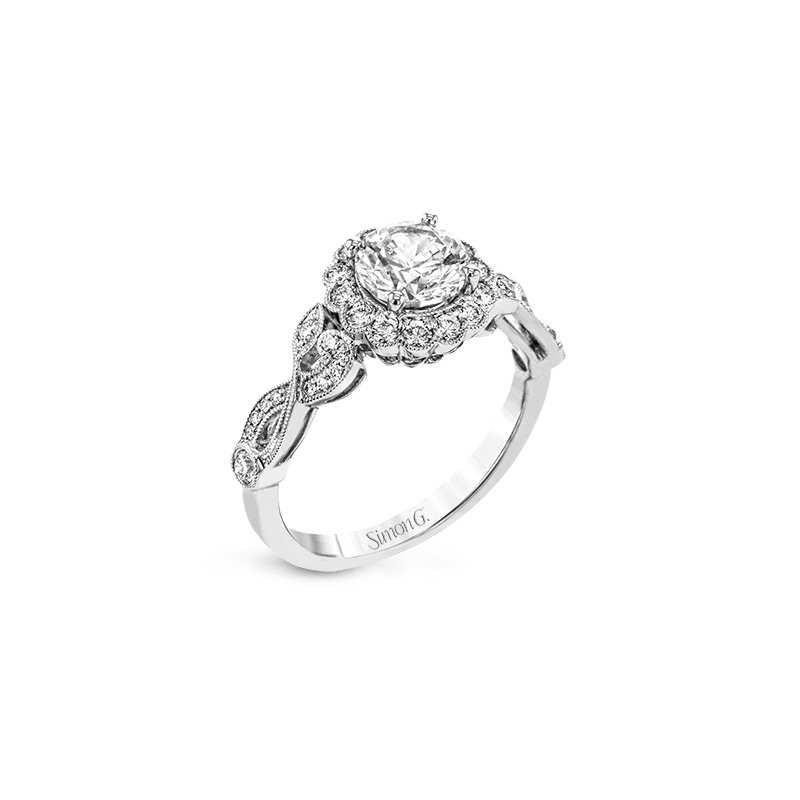 Simon G TR699 ENGAGEMENT RING