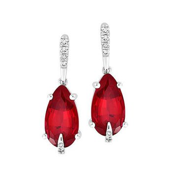 Ruby Earrings-CE4281WRU