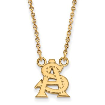 Gold Arizona State University NCAA Necklace