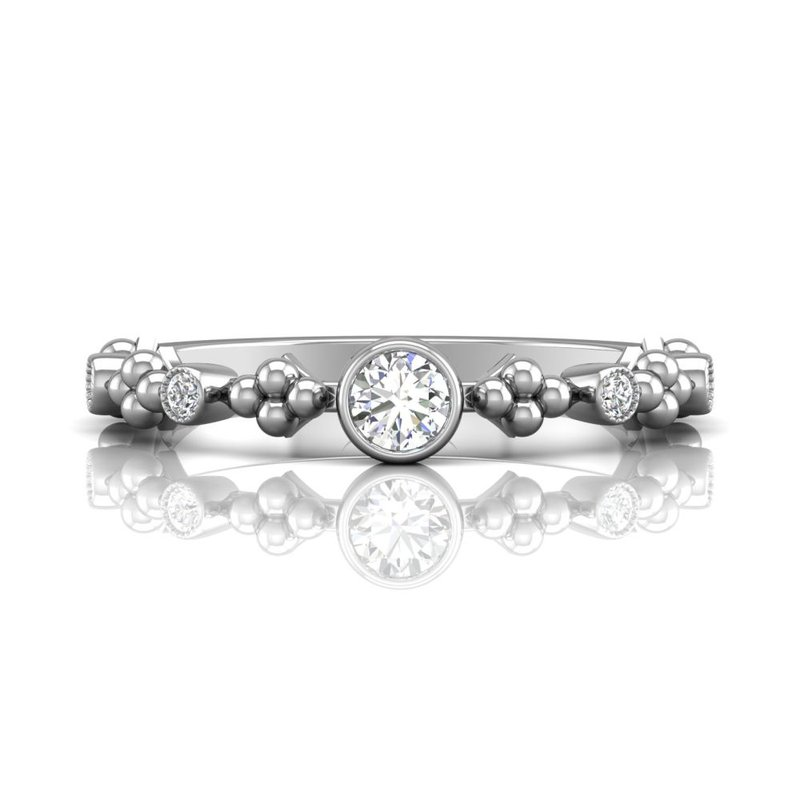 Forevermark Black Label The Forevermark Tribute™ Collection Feminine Diamond Ring