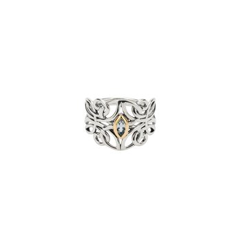 Guardian Angel Ring (Blue Topaz)