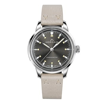 Freedom 60 39mm - Anthracite Dial Desert Leather Strap