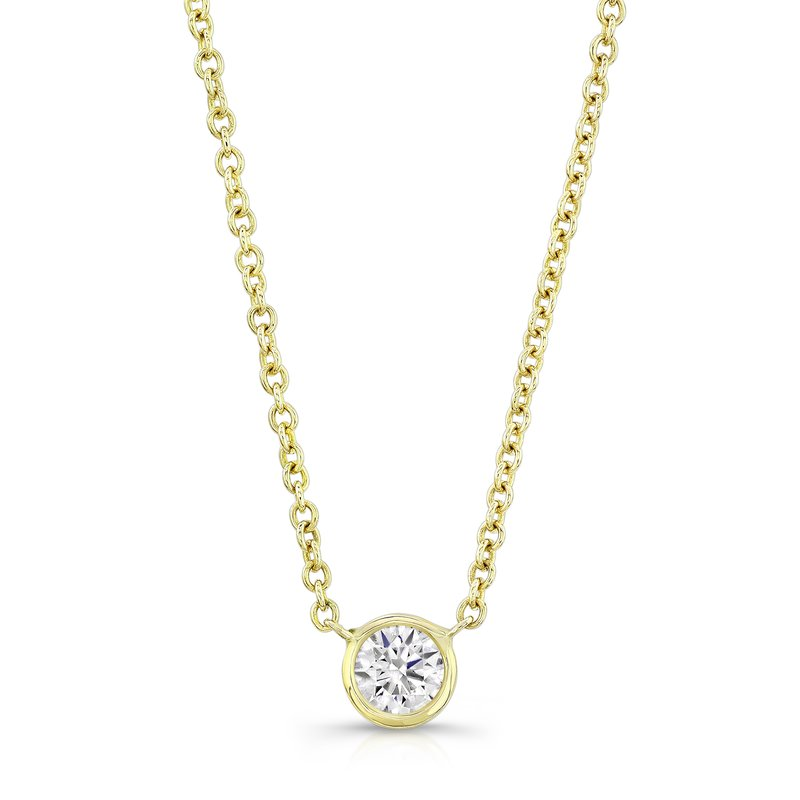 Forevermark Black Label Round Diamond Necklace