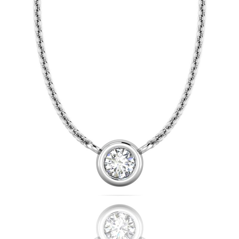 Forevermark Black Label The Forevermark Tribute™ Collection Round Diamond Necklace