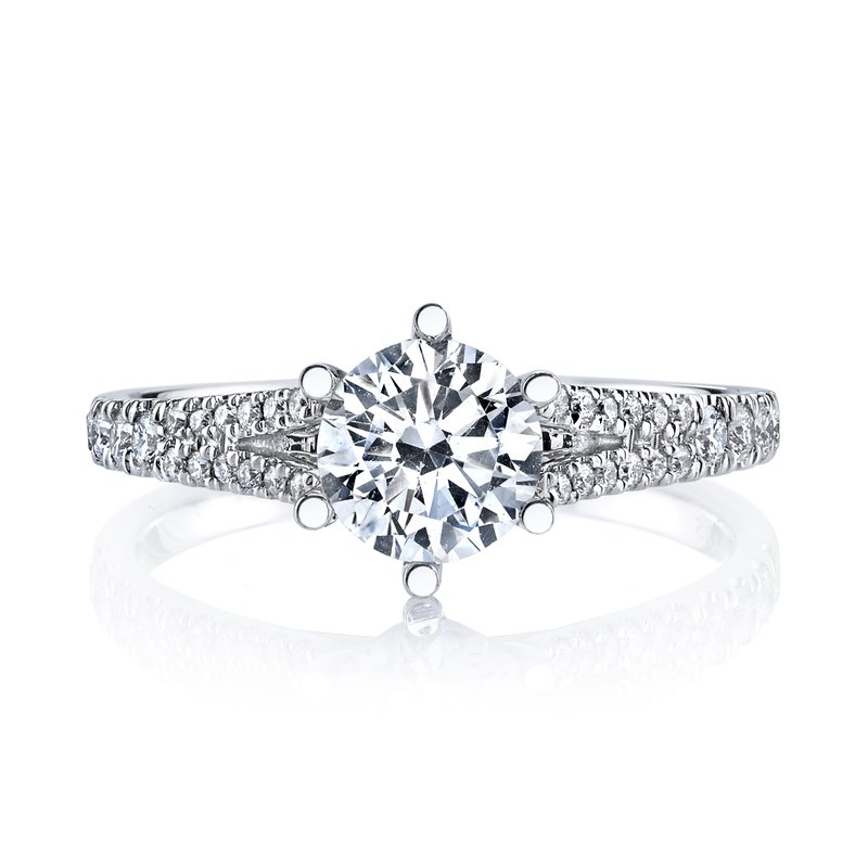 MARS Jewelry MARS 26532 Diamond Engagement Ring 0.24 Ctw.