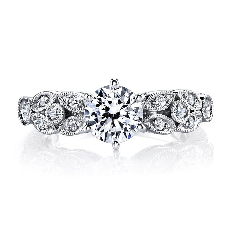 b820cde96c7a2 Kassab Jewelers: MARS Jewelry MARS 25779 Diamond Engagament Ring ...