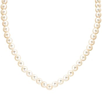 Ladies Fashion Pearl Necklace