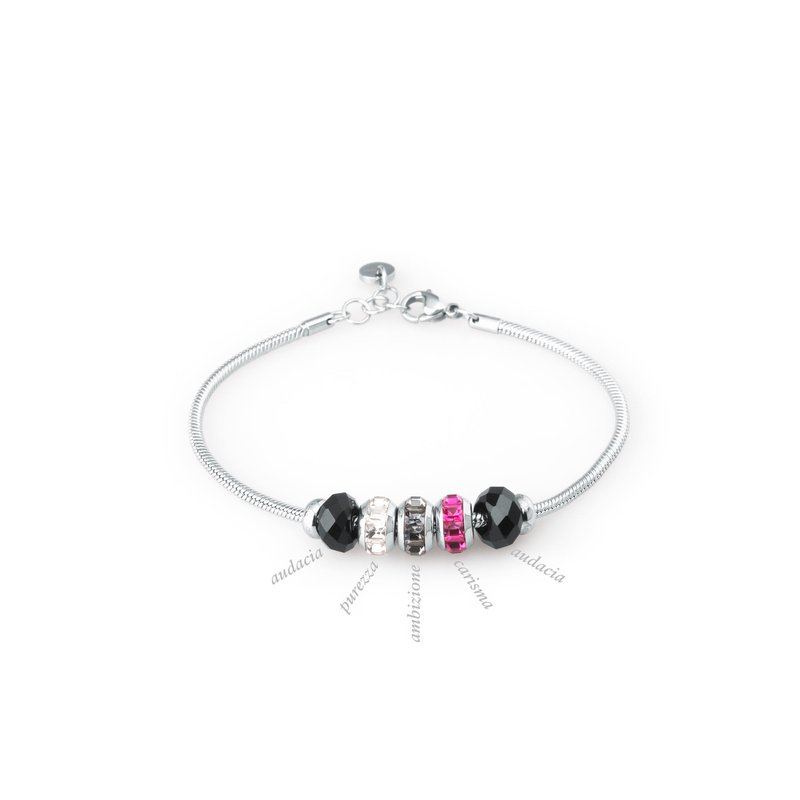 Brosway 316L stainless steel, natural gemstone and Swarovski® Elements crystals.