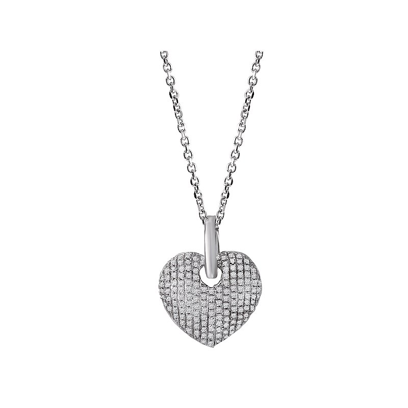Tesoro Diamond Heart Pendant