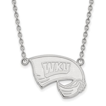 Gold Western Kentucky University NCAA Necklace