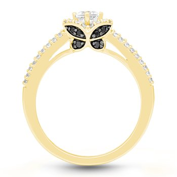 ONE LOVE BUTTERFLY RING