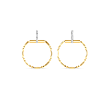 #19701 Of Earrings With Diamonds