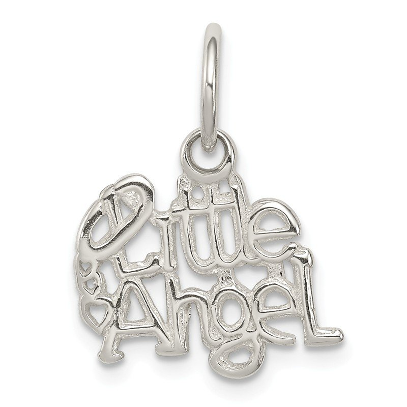 Arizona Diamond Center Collection Sterling Silver Little Angel Charm