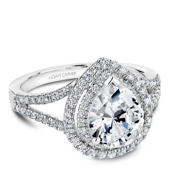 Noam Carver Fancy Engagement Ring B100-05A