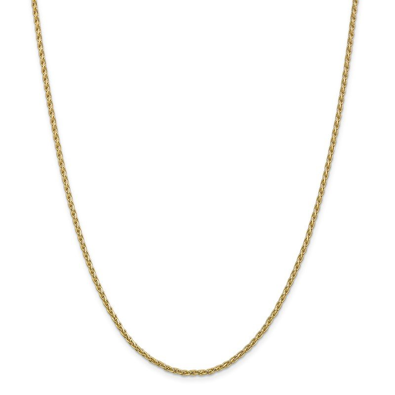Quality Gold 14k 2.25mm Parisian Wheat Chain