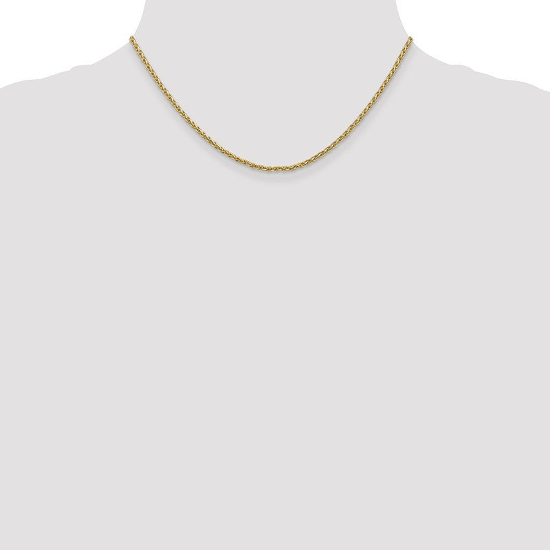 Lester Martin Online Collection 14k 2.25mm Parisian Wheat Chain