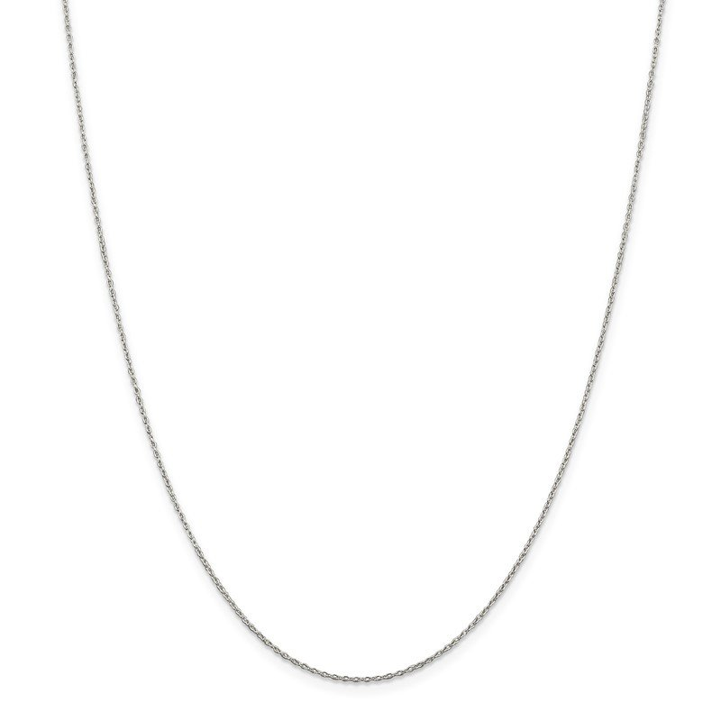 Quality Gold Sterling Silver 1.30mm Forzantina Cable Chain