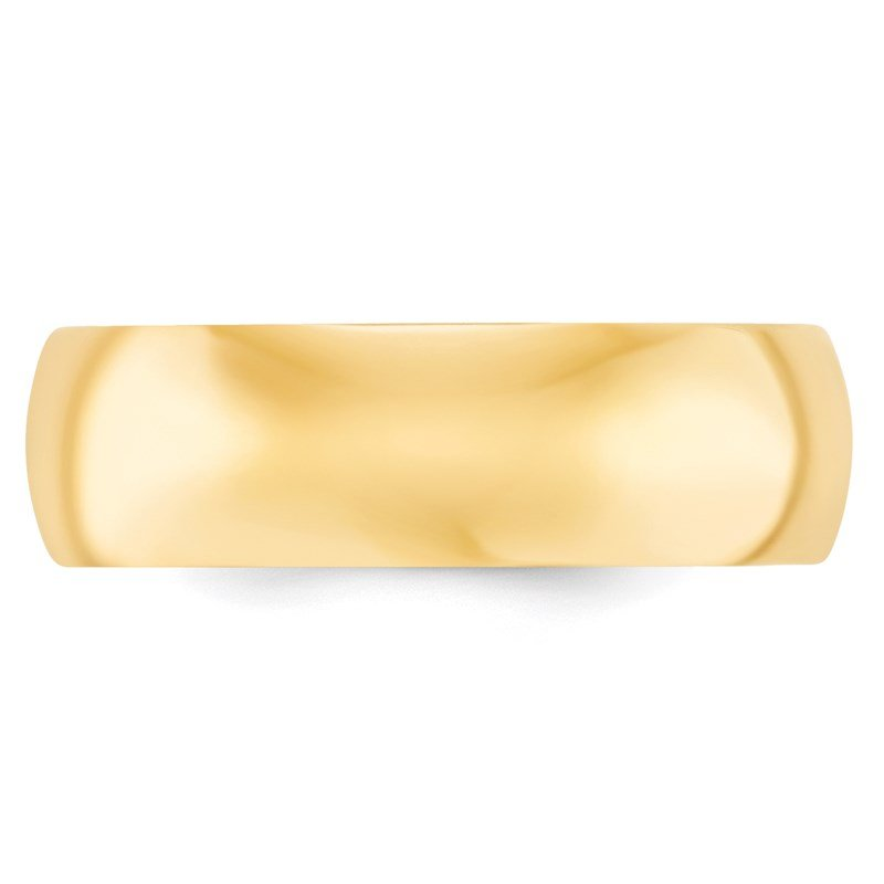 Quality Gold 14k 7mm Comfort-Fit Band