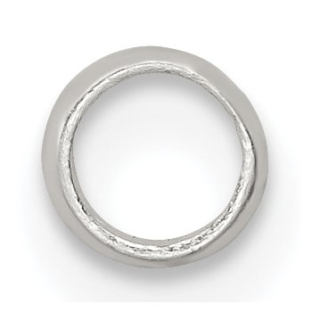 Sterling Silver Polished Spacer Enhancer