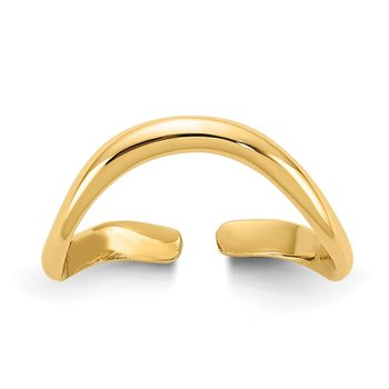 14k Polished Toe Ring